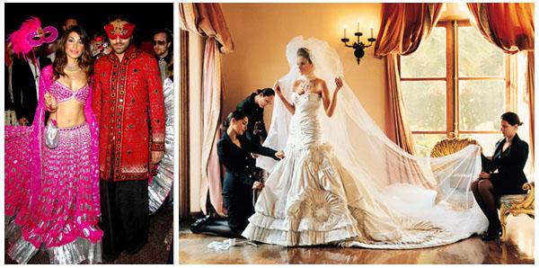 Najdroższe śluby świata