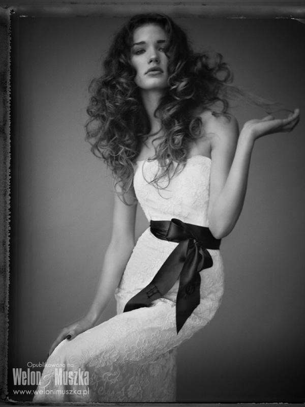 welon i muszka inspiracje slubne fotograf suknia