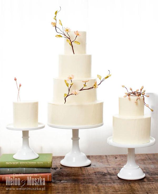 welon i muszka tort weselny