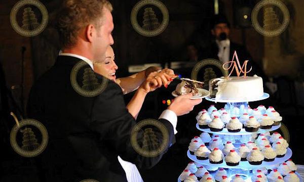 Tort z babeczek a'la cupcake