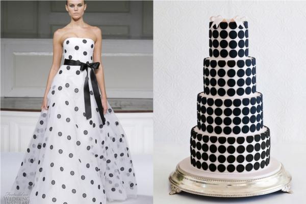 Tort inspirowany suknią ślubną?