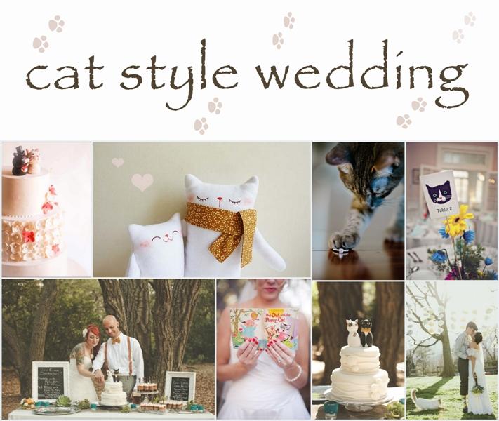 cat style wedding