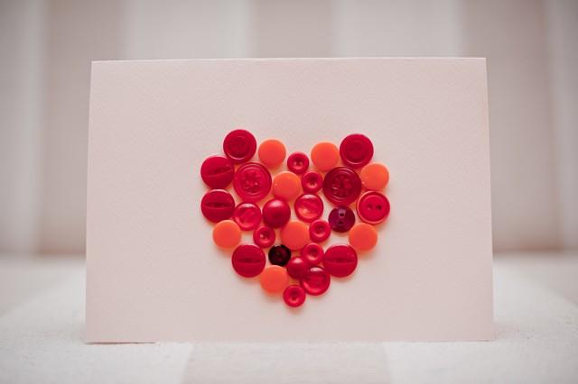 Walentynkowe dekoracje