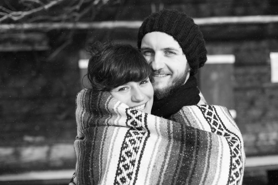Zimowe zaręczyny