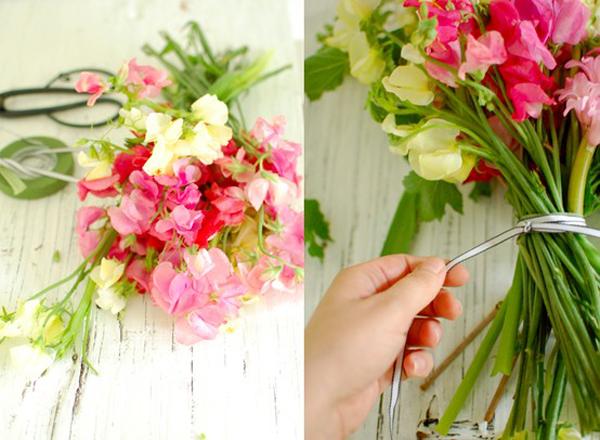 Hand-Tied-Sweet-Pea-Bouquet1