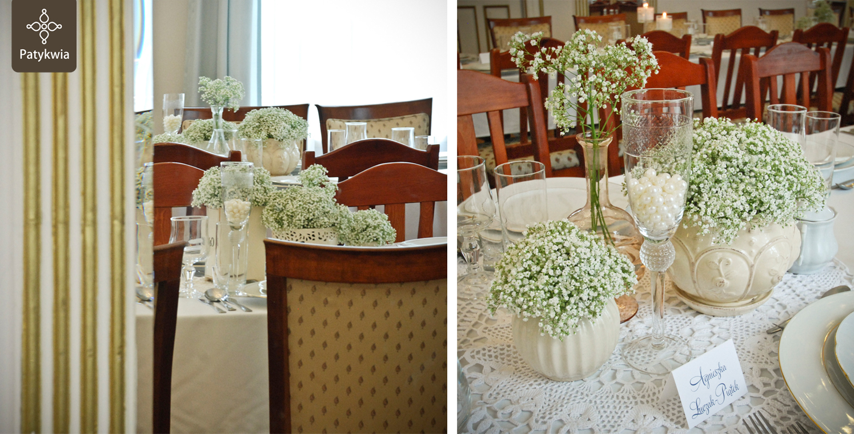 dekoracje na wesele katowice